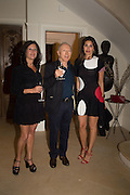 CINDY SOFER; DAVID SOFER; JUDE HESS, Dinner to celebrate the 10th Anniversary of Contemporary Istanbul Hosted at the Residence of Freda & Izak Uziyel, London. 23 June 2015