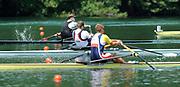 Lucerne, Switzerland.  Men's finalSingle Sculls GBR  Middle, M1X Alan CAMPBELL Silver Medalist, Men's Single Sculls. 2010 FISA World Cup. Lake Rotsee, Lucerne.  13:41:46   Sunday  11/07/2010.  [Mandatory Credit Peter Spurrier/ Intersport Images]