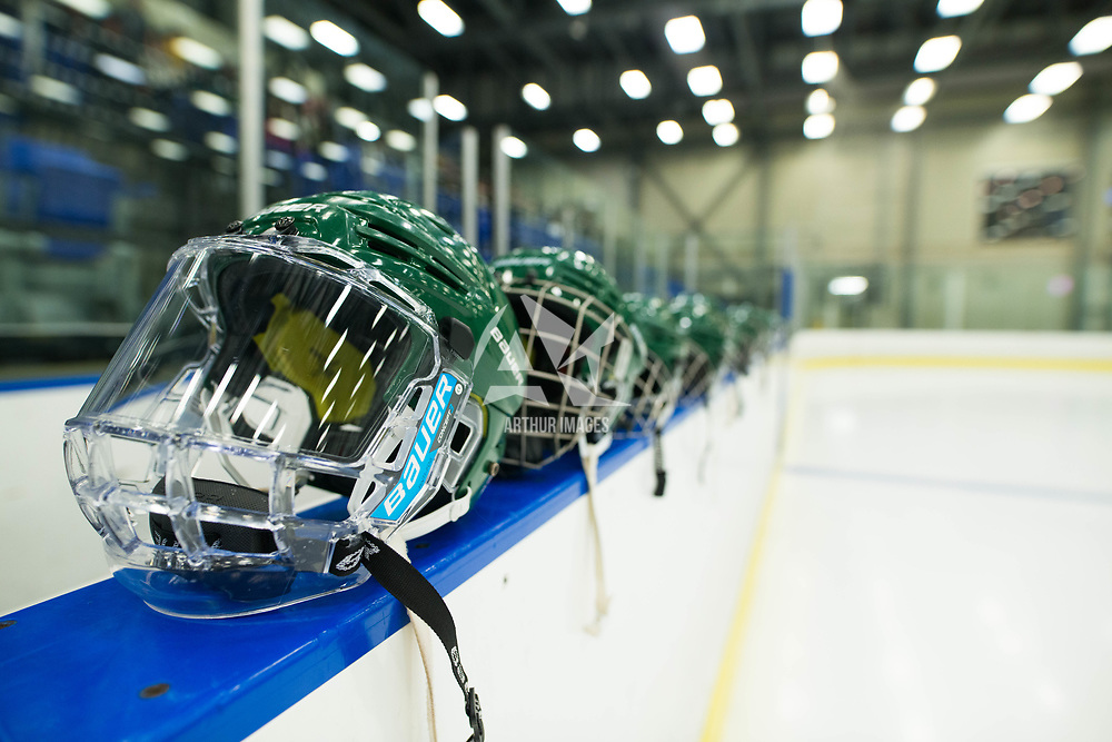 Women's Hockey Home opener on October 7 at Co-operators arena. Credit: Arthur Ward/Arthur Images