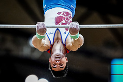 October 29, 2018 - Doha, Qatar - Artur Dalaloyan of Russia   during  High Bar, Team final for Men at the Aspire Dome in Doha, Qatar, Artistic FIG Gymnastics World Championships on October 29, 2018. (Credit Image: © Ulrik Pedersen/NurPhoto via ZUMA Press)