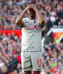 Liverpool's Daniel Sturridge show his frustration