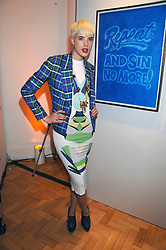 Model AGYNESS DEYNE at the TOD's Art Plus Film Party 2008 hosted by The Whitechapel Art Gallery at a former church at 1 Marylebone Road, London NW1 on 6th March 2008.<br />