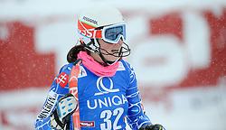 29.12.2014, Hohe Mut, Kühtai, AUT, FIS Ski Weltcup, Kühtai, Slalom, Damen, 2. Durchgang, im Bild Petra Vlhova (SVK) // Petra Vlhova of Slovakia reacts after 2nd run of Ladies Giant Slalom of the Kuehtai FIS Ski Alpine World Cup at the Hohe Mut Course in Kuehtai, Austria on 2014/12/29. EXPA Pictures © 2014, PhotoCredit: EXPA/ Erich Spiess