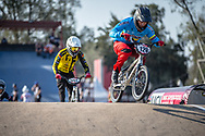 #120 (PELLUARD Vincent) COL during practice at Round 9 of the 2019 UCI BMX Supercross World Cup in Santiago del Estero, Argentina
