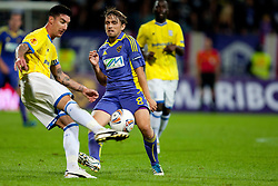 Dejan Mezga of NK Maribor at 2nd Round of Europe League football match between NK Maribor (Slovenia) and Birmingham City (England), on September 29, 2011, in Maribor, Slovenia.  (Photo by Urban Urbanc / Sportida)