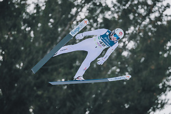 15.02.2020, Kulm, Bad Mitterndorf, AUT, FIS Ski Flug Weltcup, Kulm, Herren, im Bild Junshiro Kobayashi (JPN) // Junshiro Kobayashi of Japan during his Jump for the men's FIS Ski Flying World Cup at the Kulm in Bad Mitterndorf, Austria on 2020/02/15. EXPA Pictures © 2020, PhotoCredit: EXPA/ Dominik Angerer