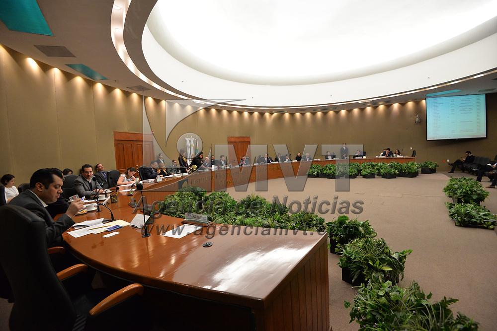 TOLUCA, México.- (Febrero 26, 2018).- El Consejo General del Instituto Electoral del Estado de México realizó la 2ª Sesión Ordinaria. Agencia MVT / Crisanta Espinosa.