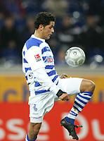 Fotball<br /> Bundesliga Tyskland 2004/2005<br /> Foto: Witters/Digitalsport<br /> NORWAY ONLY<br /> <br /> Abdelaziz AHANFOUF<br /> Fussballspieler MSV Duisburg