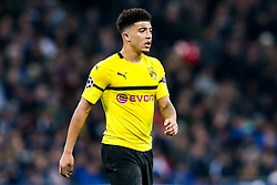Jadon Sancho of Borussia Dortmund - Mandatory by-line: Robbie Stephenson/JMP - 13/02/2019 - FOOTBALL - Wembley Stadium - London, England - Tottenham Hotspur v Borussia Dortmund - UEFA Champions League Round of 16, 1st Leg