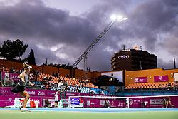 PORTOROZ, SLOVENIA - SEPTEMBER 17: Alison Riske of USA competes during the Quarterfinals of WTA 250 Zavarovalnica Sava Portoroz at SRC Marina, on September 17, 2021 in Portoroz / Portorose, Slovenia. Photo by Matic Klansek Velej / Sportida