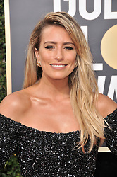 Renee Bargh at the 75th Golden Globe Awards held at the Beverly Hilton in Beverly Hills, CA on January 7, 2018.<br /><br />(Photo by Sthanlee Mirador)