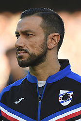 December 23, 2017 - Naples, Italy - Fabio Quagliarella of U.C. Sampdoria during the Serie A TIM match between SSC Napoli and UC Sampdoria at Stadio San Paolo Naples Italy on 23 December 2017. (Credit Image: © Franco Romano/NurPhoto via ZUMA Press)