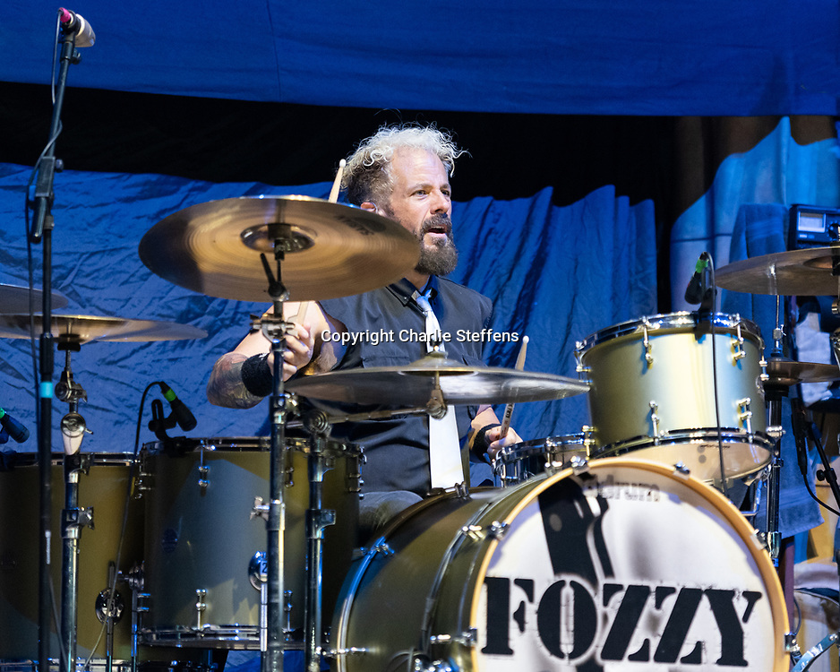 FRANK FONTSERE of Fozzy at Banc of California Stadium in Los Angeles, California
