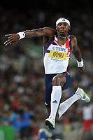 ATHLETICS - IAAF WORLD CHAMPIONSHIPS 2011 - DAEGU (KOR) - DAY 9 - 04/09/2011 - MEN TRIPLE JUMP FINAL - PHILLIPS IDOWU (GBR) / 2ND  - PHOTO : FRANCK FAUGERE / KMSP / DPPI