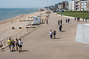 Seafront, Bexhill, 9 May 2020