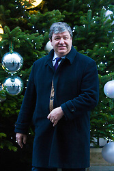 London, December 15th 2014. Northern Ireland's first and deputy first ministers join Scottish and Welsh leaders for Joint Ministerial Committee talks with David Cameron in Downing Street. The talks come three days after Cameron's offer of a financial package for the Northern Ireland Executive was rejected by Stormont. PICTURED: Scottish Secretary Alistair Carmichael outside Number Ten.