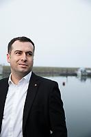 Sedat Arif. nytt socialdemokratiskt kommunalråd i Malmö. Fotograferad i Västra hamnen.