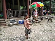 Outdoor food vendor Sayaxché, El Petén, Guatemala
