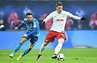 v.l. Nicolai Mueller, Marcel Halstenberg (Leipzig)<br /> <br /> Leipzig, 11.02.2017, Fussball Bundesliga, RB Leipzig - Hamburger SV 0:3<br /> <br /> Norway only