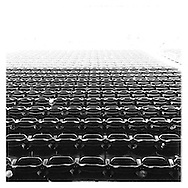 An Instagram of empty seats after a game at Target Field between the Cleveland Indians and the Minnesota Twins in Minneapolis, Minnesota.