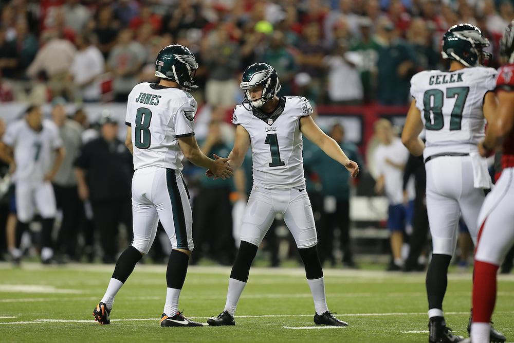 Cody Parkey; Philadelphia Eagles at Atlanta Falcons; Monday Night Football