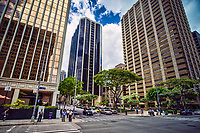 King Street, Downtown Honolulu