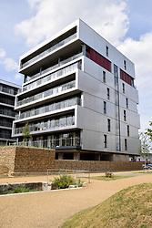 New housing developments on bank of River Wensum, Norwich UK 2017. Norwich UK 2017.