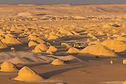 "Last light at 4X4 Camp amongst El-Khiyam ""The Tents"",  Sahara Beida (White Desert), Egypt"