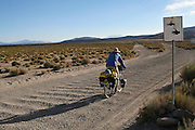 Brook Allen looks forward to washing his hands in an abandoned mining town after a tough day in the desert - Sur Lipez Desert Crossing - Bolivia