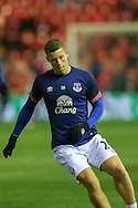 Everton midfielder Ross Barkley  during the Capital One Cup match between Middlesbrough and Everton at the Riverside Stadium, Middlesbrough, England on 1 December 2015. Photo by Simon Davies.