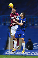 Football - 2020 / 2021 Premier League - Chelsea vs Burnley - Stamford Bridge<br /> <br /> Burnley's Chris Wood battles with Chelsea's Mateo Kovacic.<br /> <br /> COLORSPORT/ASHLEY WESTERN