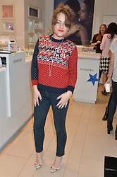 JAIME WINSTONE at the #PandoraWishes Campaign Launch Event, Pandora Marble Arch flagship store, London on 12th November 2014.