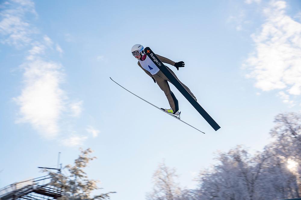 Suicide Bowl Ski jump in Negaunee, Michigan.