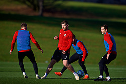 CARDIFF, WALES - Sunday, November 18, 2018: Wales' Sam Vokes during a training session at the Vale Resort ahead of the International Friendly match between Albania and Wales. (Pic by David Rawcliffe/Propaganda)