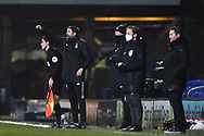 Sunderland assistant manager Stuart Taylor gestures during the EFL Sky Bet League 1 match between Ipswich Town and Sunderland at Portman Road, Ipswich, England on 26 January 2021.