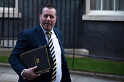 Chief Whip Mark Spencer leaving a cabinet meeting in Downing Street on January 21st 2020 in London, United Kingdom.