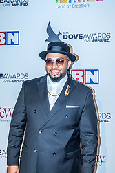 October 11, 2016 - Nashville, Tennessee, USA - Jason Clayborn at the 47th Annual GMA Dove Awards  in Nashville, TN at Allen Arena on the campus of Lipscomb University.  The GMA Dove Awards is an awards show produced by the Gospel Music Association. (Credit Image: © Jason Walle via ZUMA Wire)