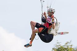 10.09.2016, Lienz, AUT, Red Bull Dolomitenmann 2016, Paragleiter, im Bild Lorenz Peer (AUT, Paragleiter vom Team Kleine Zeitung, Panaceo, Martini Sportswear) // during the paragliding of the 2016 Red Bull Dolomitenmann at the Lienz, Austria on 2016/09/10. EXPA Pictures © 2016, PhotoCredit: EXPA/ Johann Groder