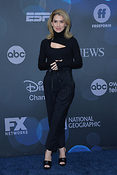 May 14, 2019 - New York, NY, USA - May 14, 2019  New York City..Hilaria Baldwin attending Walt Disney Television Upfront presentation party arrivals at Tavern on the Green on May 14, 2019 in New York City. (Credit Image: © Kristin Callahan/Ace Pictures via ZUMA Press)