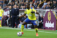 Yannick Bolasie of Everton in action. Premier League match, Burnley v Everton at Turf Moor in Burnley , Lancs on Saturday 22nd October 2016.<br /> pic by Chris Stading, Andrew Orchard sports photography.