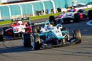 2012 British F3 International Series.Donington Park, Leicestershire, UK.27th - 30th September 2012.Jazeman Jaafar, Carlin..World Copyright: Jamey Price/LAT Photographic.ref: Digital Image Donington_BritF3-19559