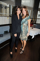 Left to right, CLAUDIA WINKLEMAN and EMILY OPPENHEIMER-TURNER at the Harper's Bazaar Women of the Year Awards 2008 at The Landau, The Langham Hotel, Portland Place, London on 1st September 2008.<br /> <br /> NON EXCLUSIVE - WORLD RIGHTS
