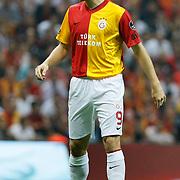 Galatasaray's Johan ELMANDER during their Turkish Super League soccer match Galatasaray between Samsunspor at the Turk Telekom Arena at Seyrantepe in Istanbul Turkey on Sunday, 18 September 2011. Photo by TURKPIX