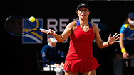 Jessica Pegula of the United States against Petra Martic of Croatia during her quarter-final match at the 2021 Internazionali BNL d'Italia, WTA 1000 tennis tournament on May 14, 2021 at Foro Italico in Rome, Italy - Photo Rob Prange / Spain ProSportsImages / DPPI / ProSportsImages / DPPI