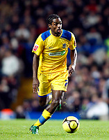 Fotball<br /> England<br /> Foto: Colorsport/Digitalsport<br /> NORWAY ONLY<br /> <br /> Anthony Grant of Southend United Chelsea  Vs Southend United F A CUP 3rd Round  at  Stamford Bridge Stadium. 03/01/2009.