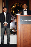 l to r: Shane Ward and Shawn Ward at The 2009 NV Awards: A Salute to Urban Professionals sponsored by Hennessey held at The New York Stock Exchange on February 27, 2009 in New York City. ....
