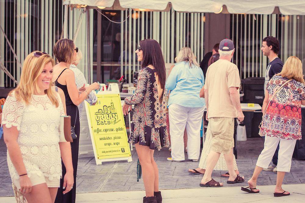Cascade the Runway - Downtown Akron fashion show on Cascade Plaza