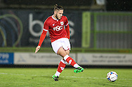 Bristol City's Jack Batten during the The County Cup match between Forest Green Rovers and Bristol City at the New Lawn, Forest Green, United Kingdom on 23 November 2015. Photo by Shane Healey.