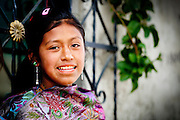Indigenous girl in Zinacantan