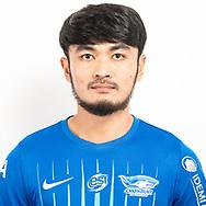 THAILAND - JUNE 11: Teerapong Deehamhae #4 of Chon Buri FC on June 11, 2019.<br /> .<br /> .<br /> .<br /> (Photo by: Naratip Golf Srisupab/SEALs Sports Images/MB Media Solutions)